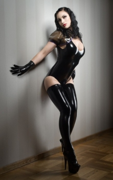 Luscious Lusty Latex Ladies (12)
