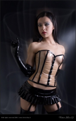 Luscious Lusty Latex Ladies (33)