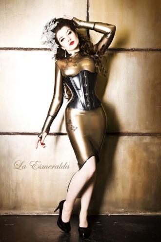 Luscious Lusty Latex Ladies (36)