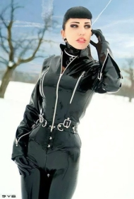 Luscious Lusty Latex Ladies (7)