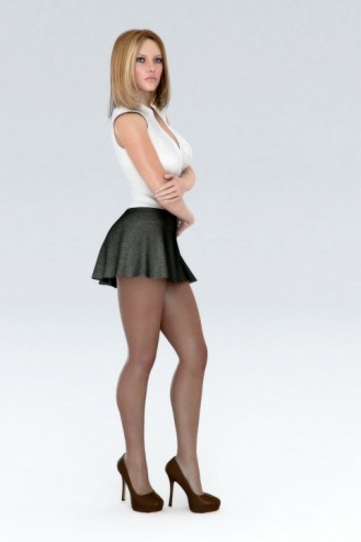 Short Skirts, High Heels (47)