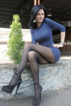 High Heels And Stocking Tops (4)