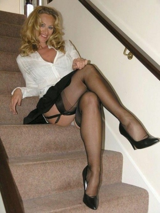 High Heels And Stocking Tops (6)