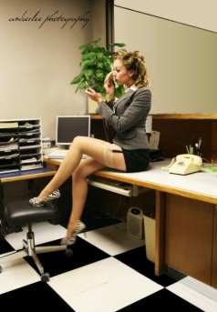 Stunning Stockinged Lady (1)