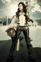 Steampunk Lady (21)