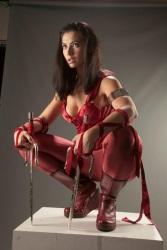 Meagan Marie is Elektra