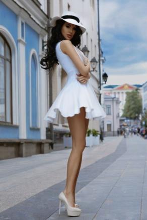 Short Skirt Lovely Legs (17)