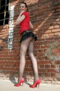 Short Skirt Lovely Legs (32)