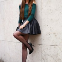 Lovely Ladies With Short Skirts And Long Long Legs