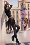 Mini Skirt High Heels (12)