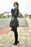 Mini Skirt High Heels (3)