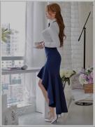 Short Skirt Lovely Legs (14)