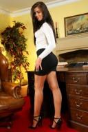 Short Skirt Lovely Legs (20)