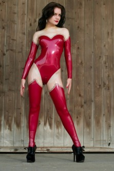Red Latex Lady (25)