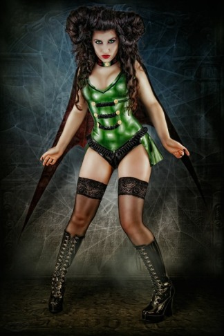 La Esmeralda Gruen Latex