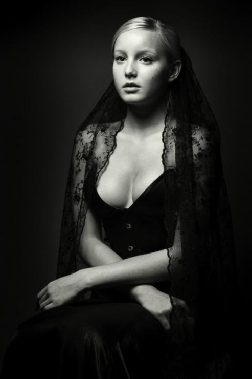 Black V-Couture Corset