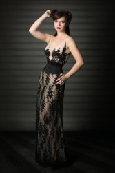 Corseted Lace Dress