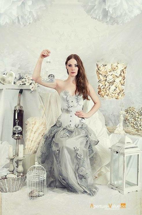 Winterflower Corset Dress