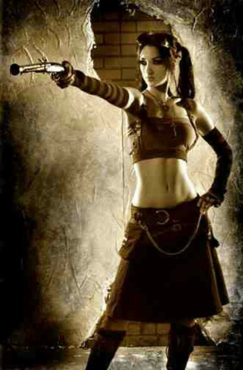 Steampunk Girl (III)