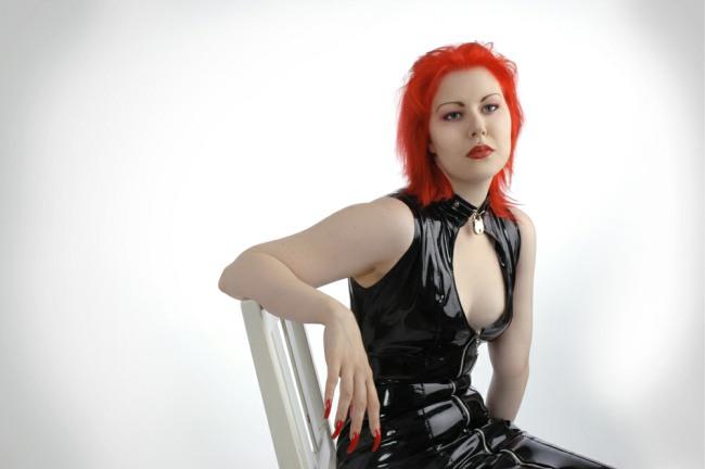 Cynda In Red