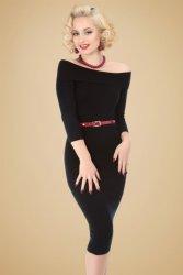 Tessa Pencil Dress in Black