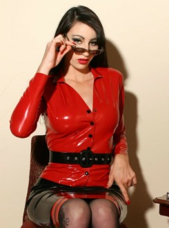 Red Latex Lady (52)