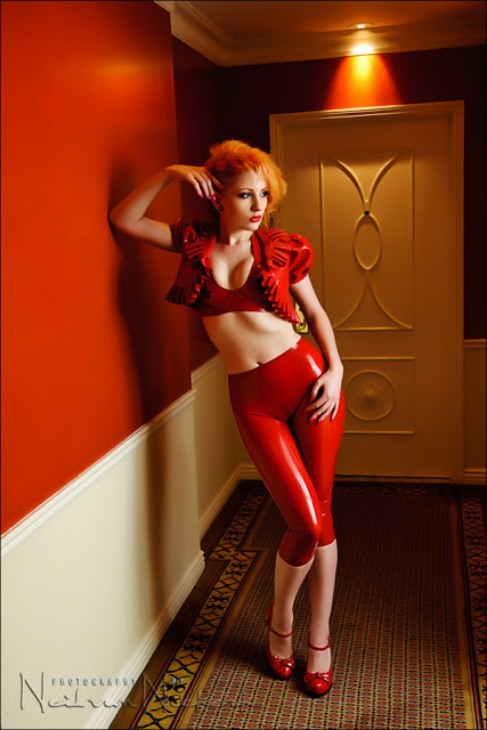 Red Latex Lady (53)