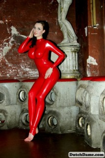 Red Latex Lady (60)