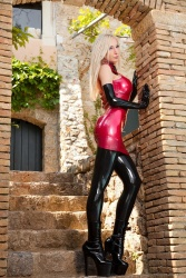 Red Latex Lady (61)
