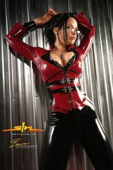 Red Latex Lady (65)