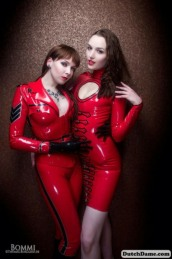Red Latex Lady (55)