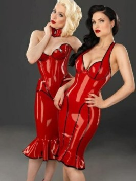 Red Latex Lady (71)