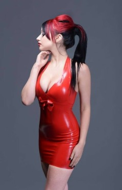 Red Latex Lady (75)
