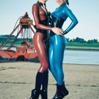 Stunningly Strictly Sexy Ladies Wearing Catsuits
