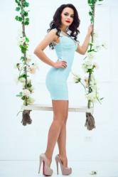 Mini Skirt High Heels (21)