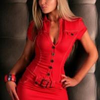 Dazzling Darlings Draped Dreamily In Daring Red Dresses