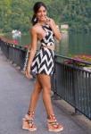 Mini Skirt High Heels (73)