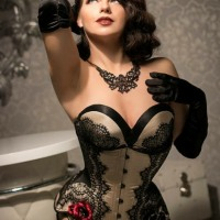 Gorgeously Stunning Corseted Curvaceous Boudoir Beauties