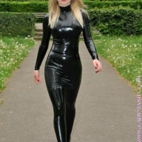 Full Catsuits Worn By Stunningly Strictly Sexy Ladies