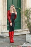 Wearing Black And Red (1)