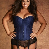 Gorgeously Stunning Corseted Curvy Boudoir Beauties