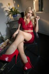 Mini Skirt High Heels (34)