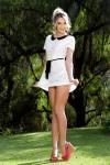 Mini Skirt High Heels (36)