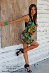 Mini Skirt High Heels (38)