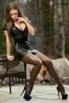 Mini Skirt High Heels (39)
