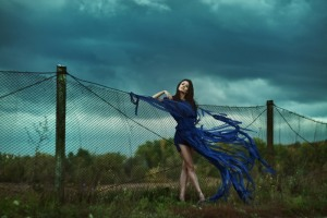 Blue Wind By Marina Stenko