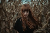 Corn Girl By Alessio Albi