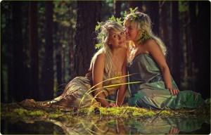 Whispering Nymphs By Vladimir Zotov