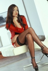 Lady Loves Nylons (35)